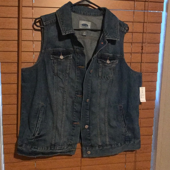 73ba2de4ab4 Old Navy Plus Size Denim Vest